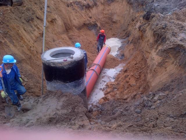 Монтаж канализации хозяйственно-бытовой