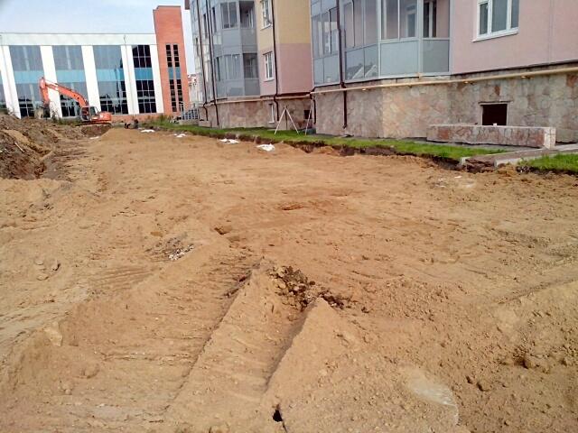 Земляные работы разработка грунта