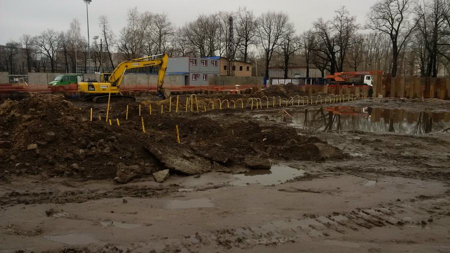 Разработка грунта в Санкт-Петербурге