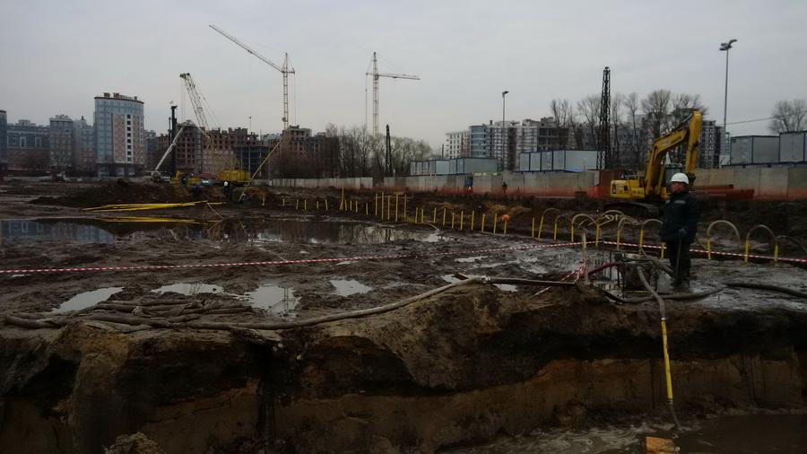 Разработка грунта от компании Электростройкомплекс